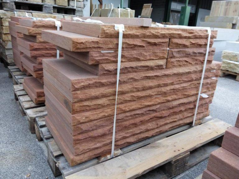 Fertigerzeugnisse – Mauerabdeckplatten