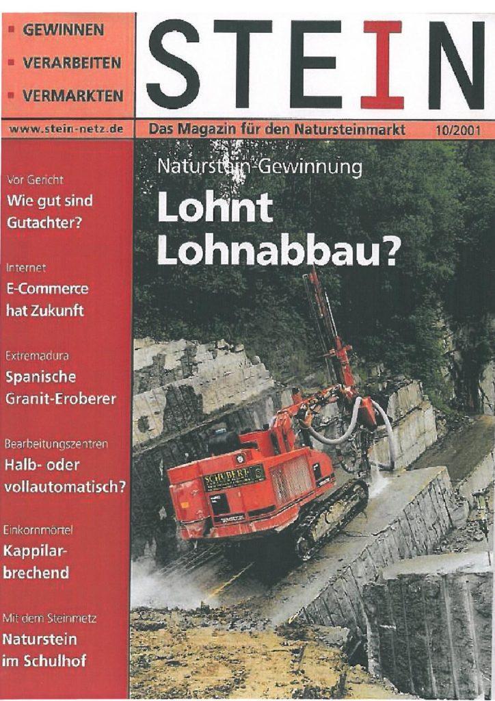Pressebericht Natursteinwerk Schubert