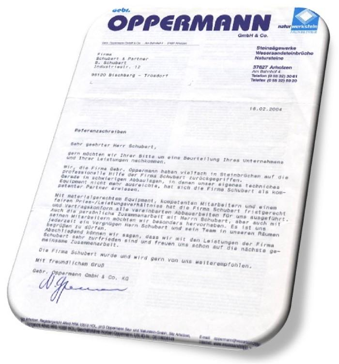 Firma Oppermann GmbH & Co.