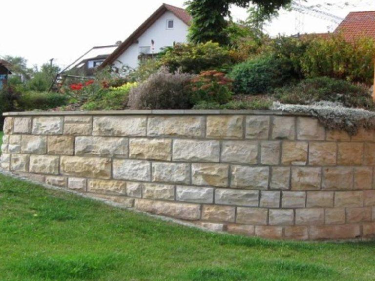 Mauersteine gesägt