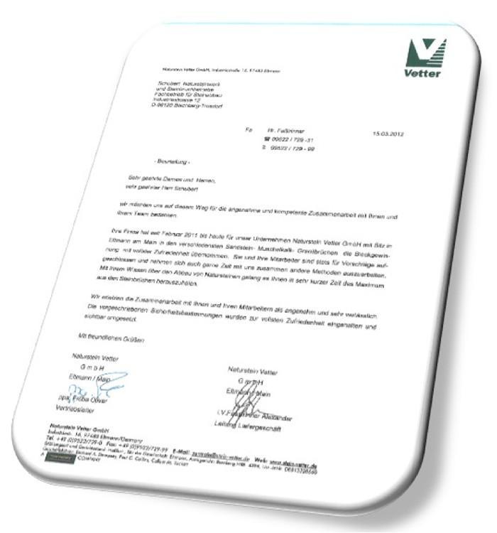 Firma Naturstein Vetter GmbH